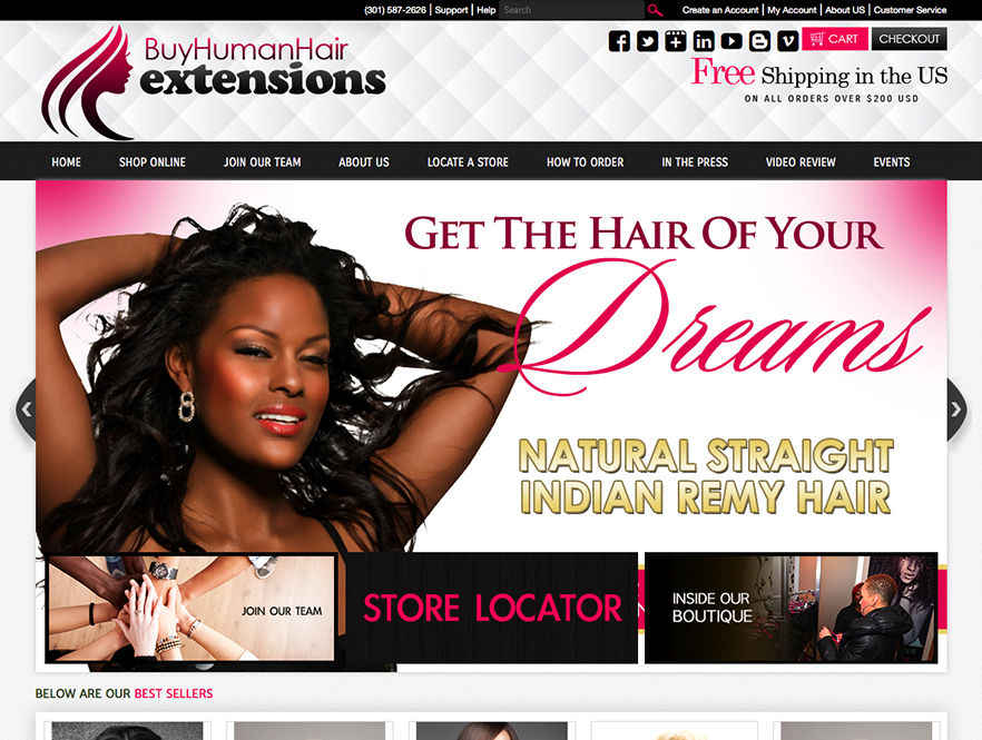 Beauty And Salon Website Design - Miami Beauty And Salon Web ...