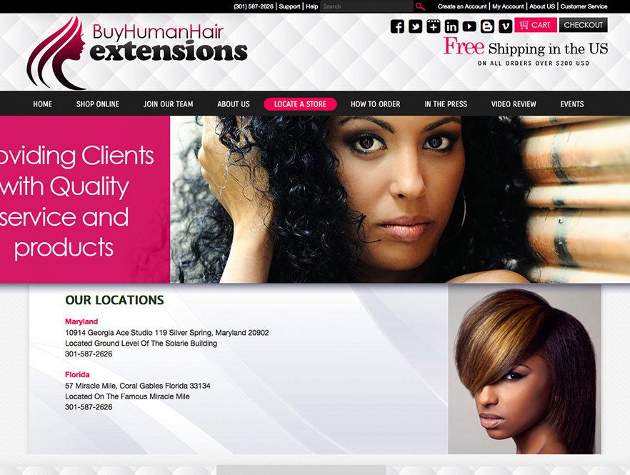 Human hair extensions web design web design for hair extensions buy human hair extensions pmusecretfo Choice Image