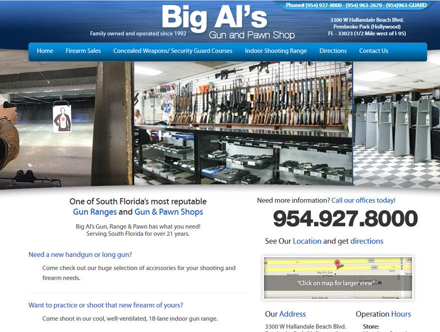 Gun Web Design Firearm Web Design for Dealers