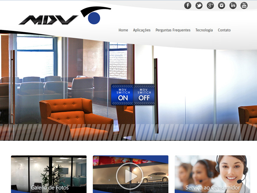 MDV Switch Smart Glass