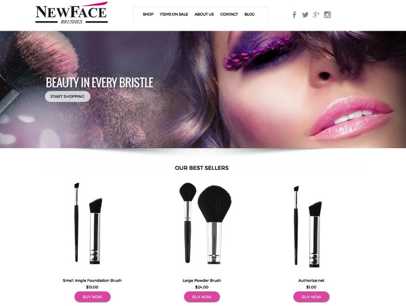 Beauty And Salon Website Design Miami Beauty And Salon
