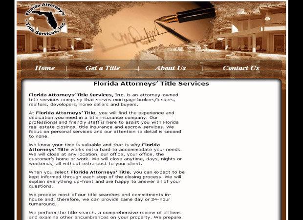 Title Company Web Design And Web Development