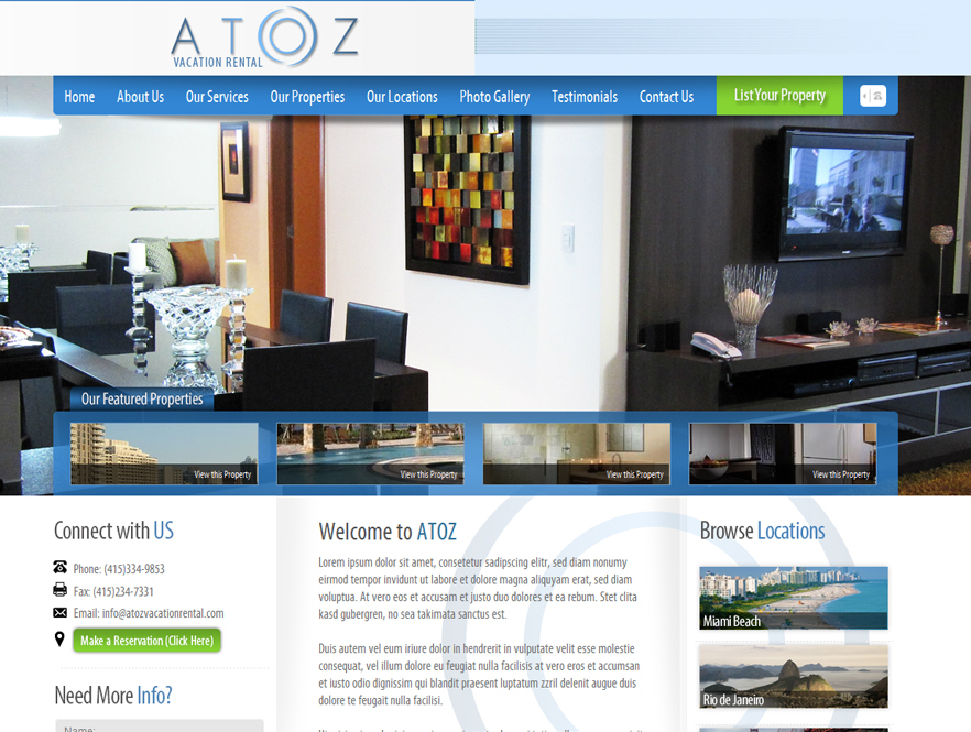 A to Z Vacation Rental