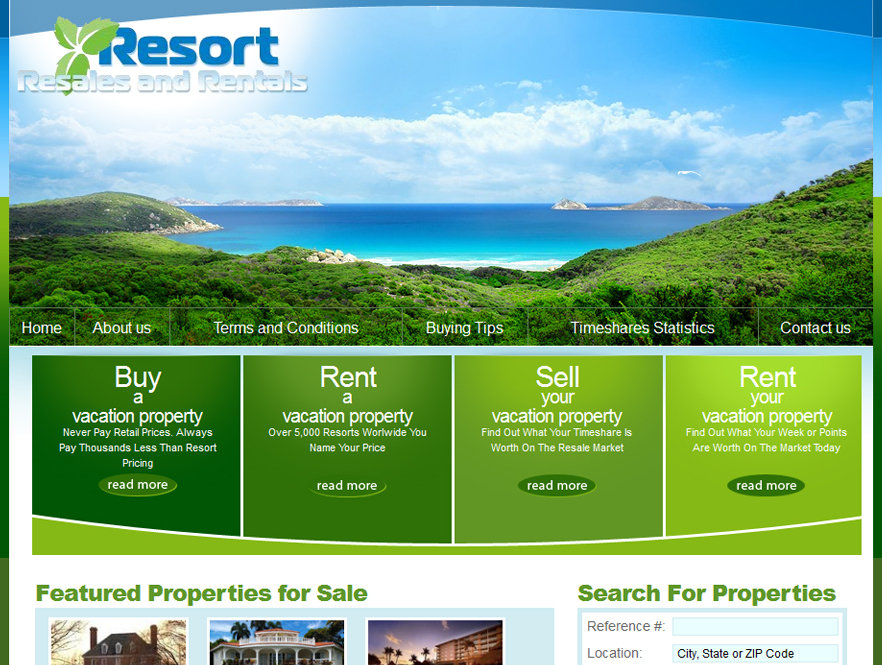 Resort Resales and Rentals
