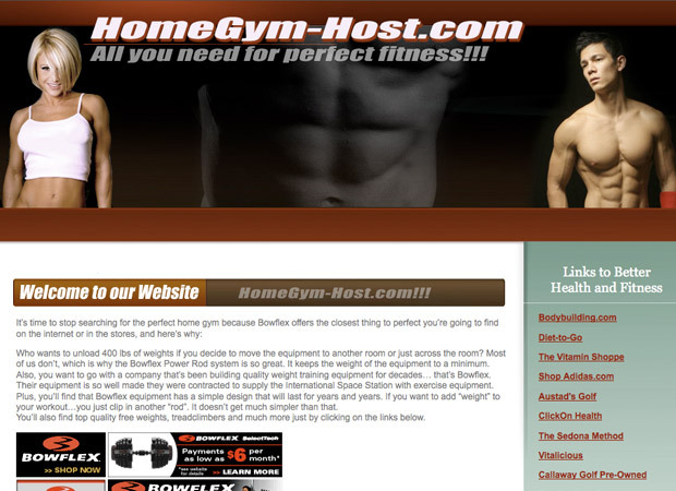 Home Gym-Host