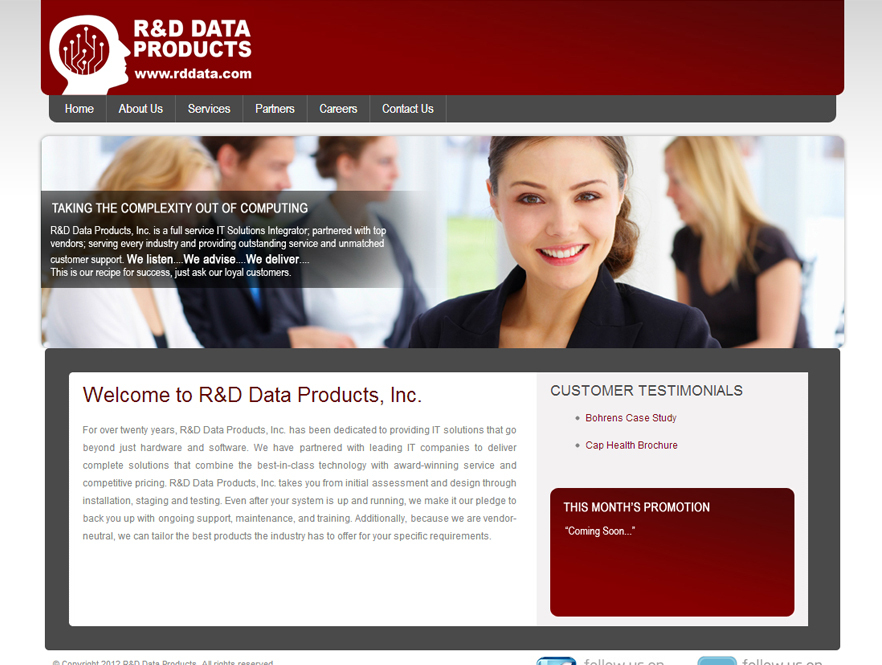 R&D Data Products