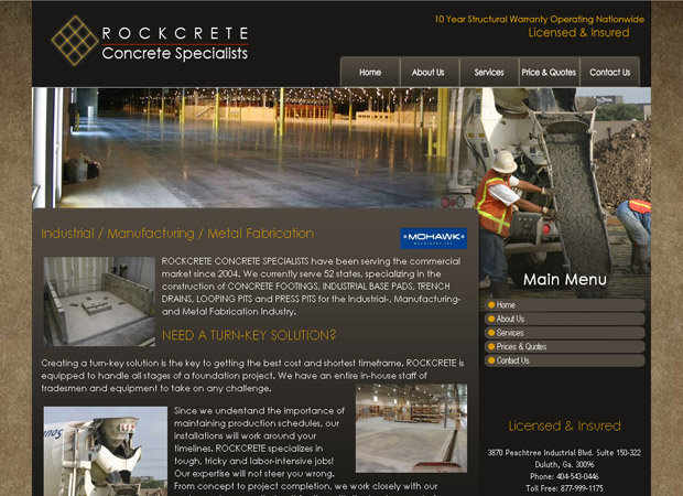 Rockcrete Usa Construction